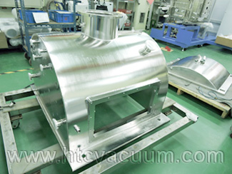 For your request customized D-shape vacuum chamber
