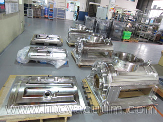Customized D-shape vacuum chambers by your drawing