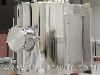 Customized D-shape vacuum chamber