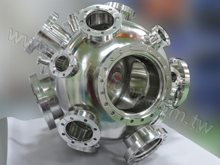 Htc vacuum customized Spherical chamber