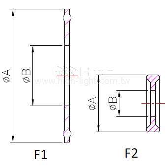 卫生级简易式垫圈 13PG