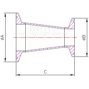 C.31-14MP - 锥型缩减管接头