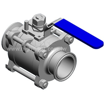 Butterfly Valve & Ball Valve | Sanitary Fittings : Htc vacuum