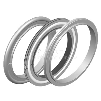 Vacuum chamber seal - centering ring & oring