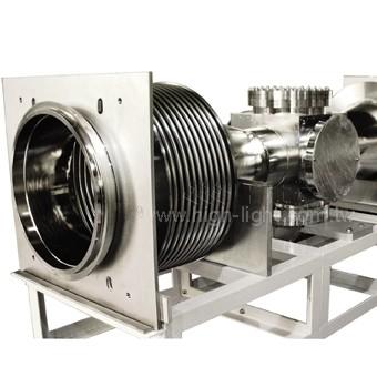 同步輻射中心專案UHV超高真空腔體 | Htc日揚真空應用系統整合設計供應製造廠