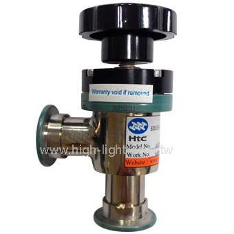 Manual Teflon Coating Vacuum Angle Valve