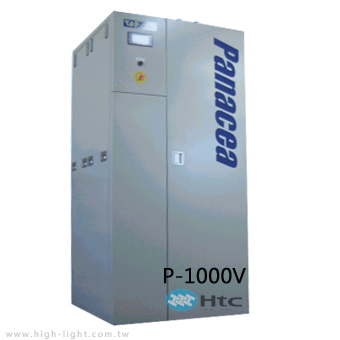 Panacea P-1000V wet scrubber for removes powder, chemicals | Htc vacuum