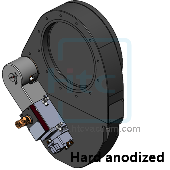鐘擺閥是一種氣動式真空閘閥應用在高真空腔體的節流閥   Htc 日揚真空